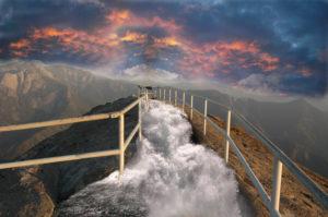 Moro Rock Falls 1